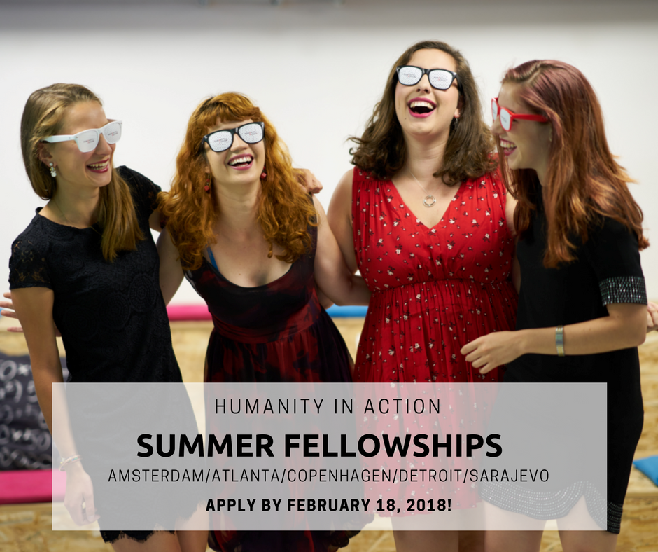 HIA Summer Fellowship 2018